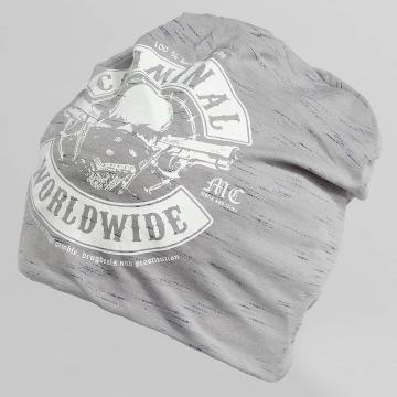 Mafia & Crime Hat-1 Criminal Worldwide gray