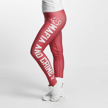 Mafia & Crime Leggings Girls rosa chiaro