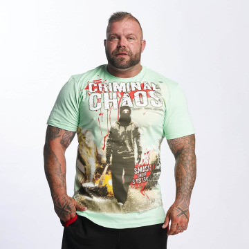 Mafia & Crime T-shirt Criminal Chaos verde