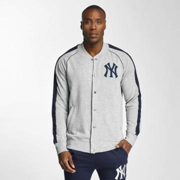 Majestic Athletic College Jacke NY Yankees grau