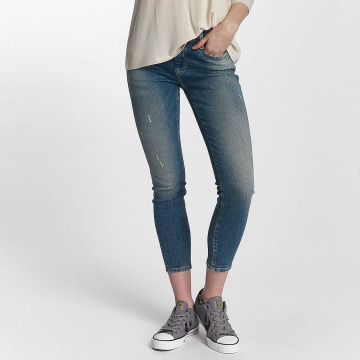 Mavi Jeans Skinny jeans Adriana Mid Rise Super Skinny blauw