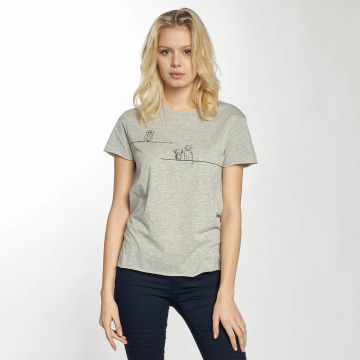 Mavi Jeans T-Shirt Animal grey