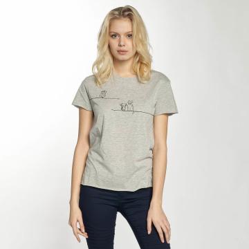 Mavi Jeans T-shirt Animal grigio
