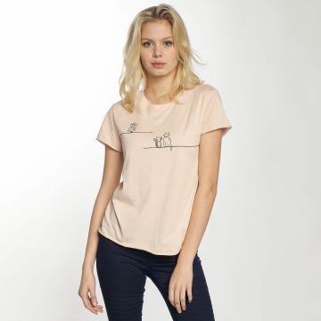 Mavi Jeans T-Shirt Animal rose