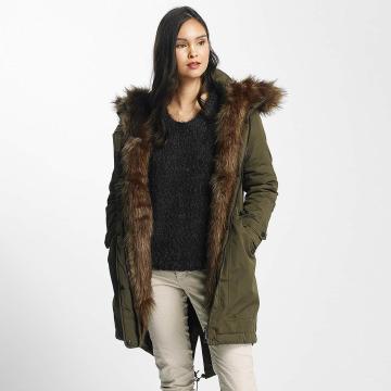 Mavi Jeans winterjas Hooded groen