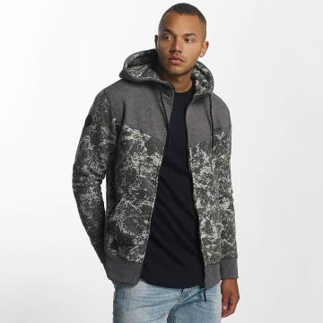 Mazine Hoodies con zip Logan grigio