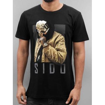 Merchcode Camiseta Sido Geuner negro