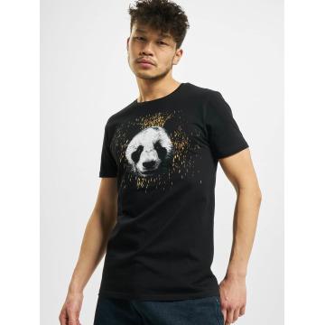 Merchcode Camiseta Desiigner Panda negro