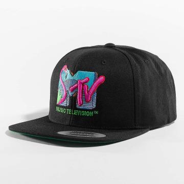 Merchcode Casquette Snapback & Strapback MTV Flamingo noir