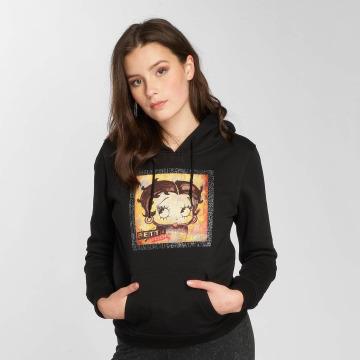 Merchcode Felpa con cappuccio Betty Boop Colored nero