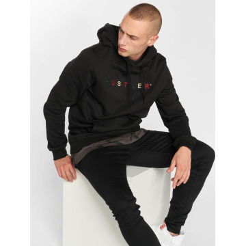 Merchcode Hoodie Hustler Embroidery svart