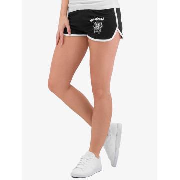 Merchcode shorts Ladies Motörhead Logo French Terry zwart