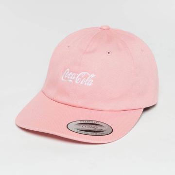Merchcode Snapback Caps Coca Cola Logo lyserosa