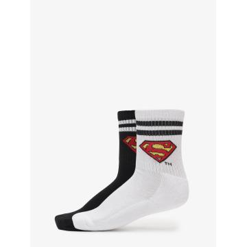 Merchcode Strumpor Double Pack Superman svart