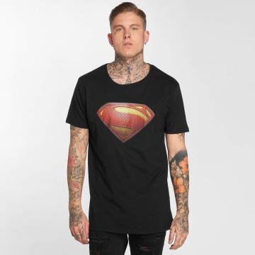 Merchcode T-Shirt JL Superman schwarz