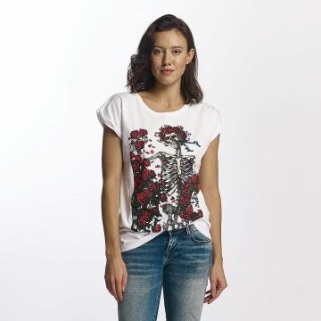 Merchcode T-Shirt Grateful Dead Rose weiß