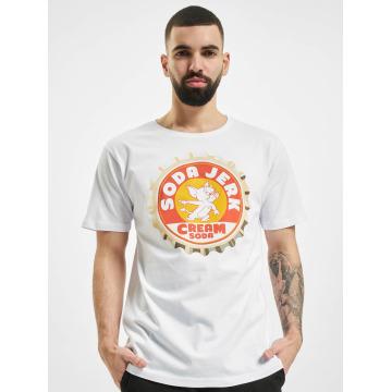 Merchcode T-Shirt Soda weiß
