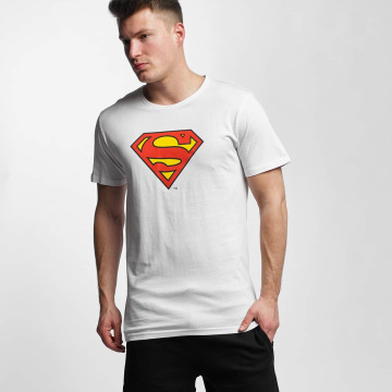 Merchcode t-shirt Superman Logo wit