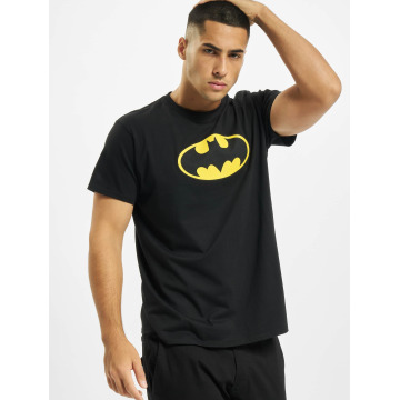 Merchcode t-shirt Batman Logo zwart