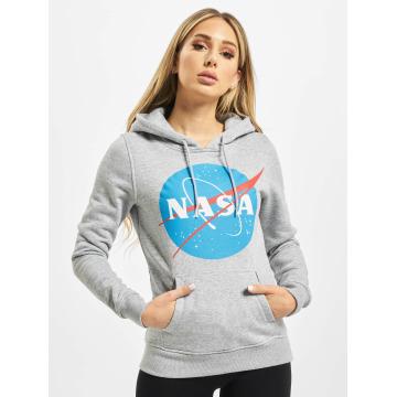Mister Tee Bluzy z kapturem NASA szary