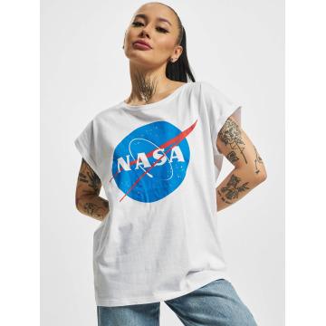 Mister Tee Camiseta NASA Insignia blanco