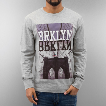 Mister Tee Jersey BRKLYN gris
