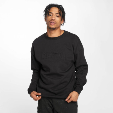 Mister Tee Jumper Embossed NASA Worm black