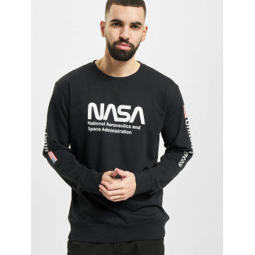 Mister Tee Jumper NASA US black