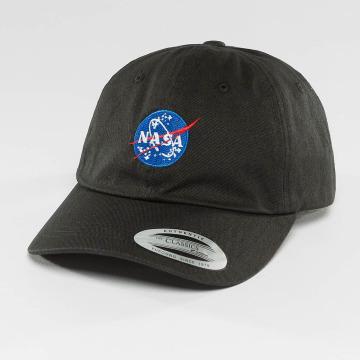 Mister Tee Snapback Cap NASA Dad black