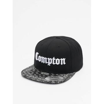 Mister Tee Snapback Cap Compton Bandana schwarz