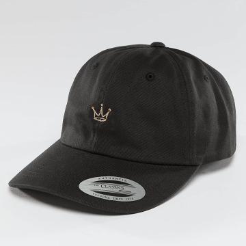 Mister Tee Snapback Cap Crown Dad schwarz