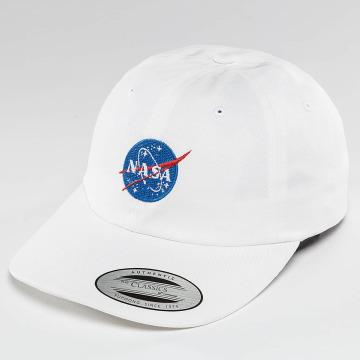 Mister Tee Snapback Caps NASA hvit