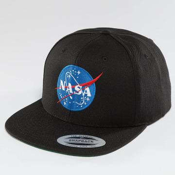 Mister Tee Snapback Caps NASA svart