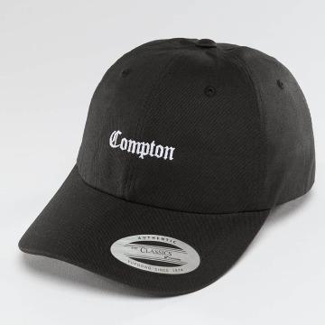 Mister Tee Snapback Caps Compton svart