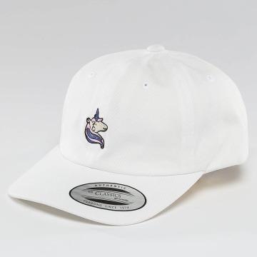 Mister Tee Snapback Caps Unicorn Dad Kids valkoinen