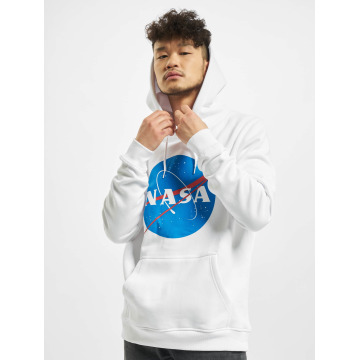 Mister Tee Sweat capuche NASA blanc
