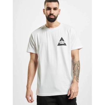 Mister Tee T-shirt Triangle bianco