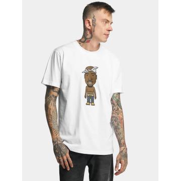 Mister Tee T-shirt LA Sketch bianco