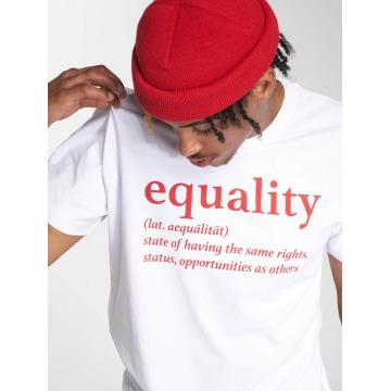 Mister Tee T-Shirt Equality blanc