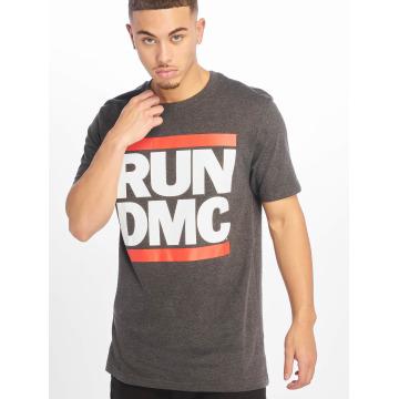 Mister Tee T-Shirt Run DMC gris