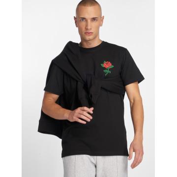 Mister Tee T-shirt Rose svart