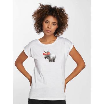 Mister Tee t-shirt Fake Unicorn wit