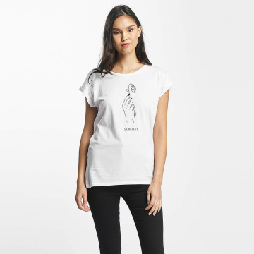 Mister Tee T-shirts More Love hvid
