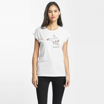 Mister Tee T-shirts Killing Me Softly hvid