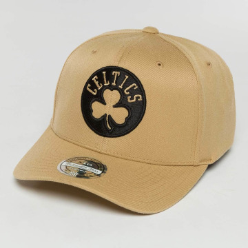 Mitchell & Ness Casquette Snapback & Strapback The Sand And Black 2-Tone NBA Boston Celtics beige