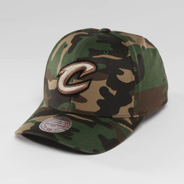 Mitchell & Ness Casquette Snapback & Strapback NBA Woodland Camo And Suede camouflage