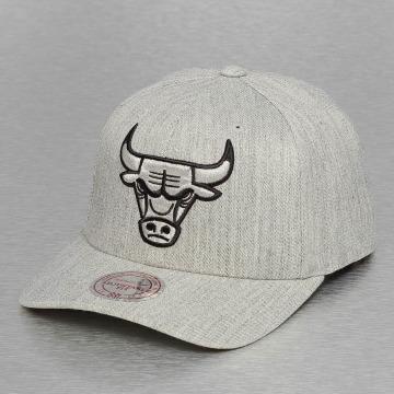 Mitchell & Ness Casquette Snapback & Strapback 110 Chicago Bulls gris