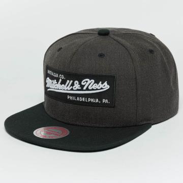 Mitchell & Ness Casquette Snapback & Strapback Box Logo gris