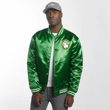 Mitchell & Ness College Jacke HWC Team Boston Celtics grün