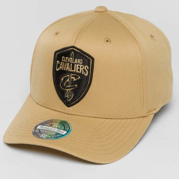 Mitchell & Ness Snapback Cap The Sand And Black 2-Tone NBA Cleveland Cavaliers beige